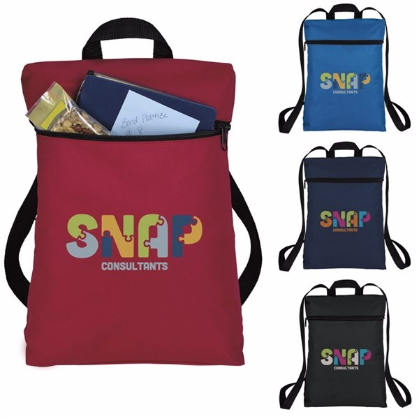 Promotional Simple Zip Backpack