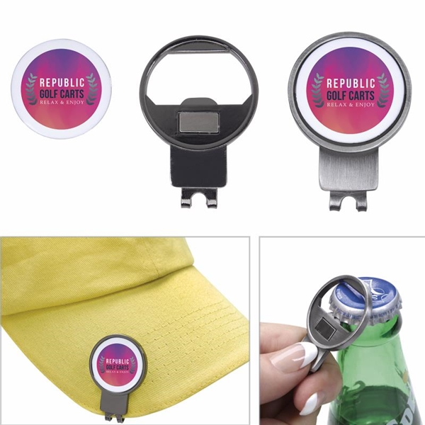 Promotional Capmate 3- in -1 Golf Hat Clip