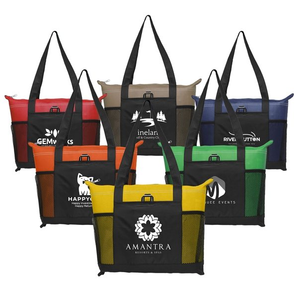Promotional Downtown - Non - Woven Tote Bag