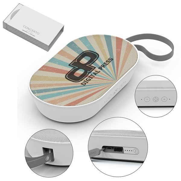 Promotional Concerto Speaker And Power Bank