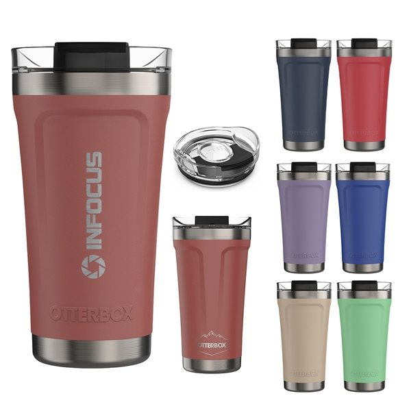 Promotional 16 Oz. Otterbox(R) Elevation(R) Stainless Steel Tumbler