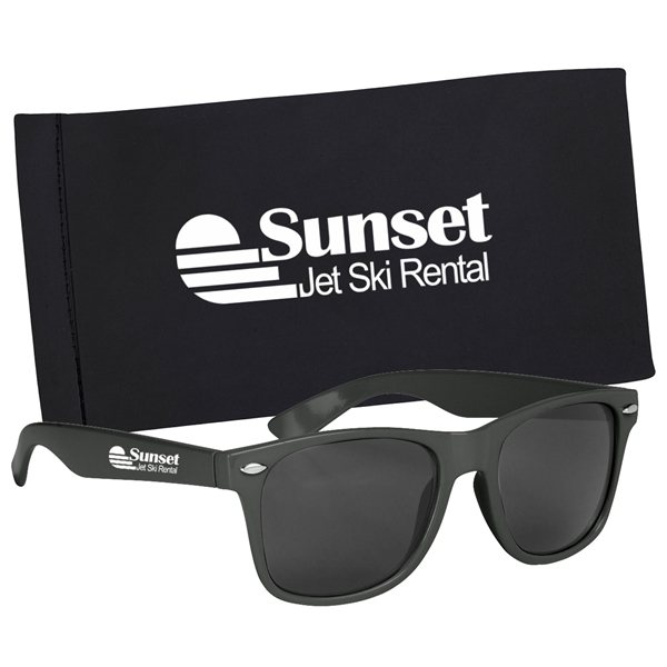 Promotional Malibu Sunglasses With Pouch