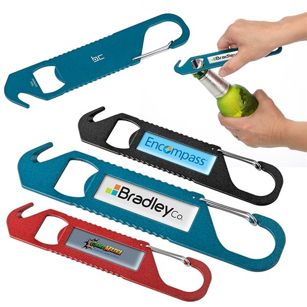 Promotional Basecamp(R) Quickdraw Carabiner Tool