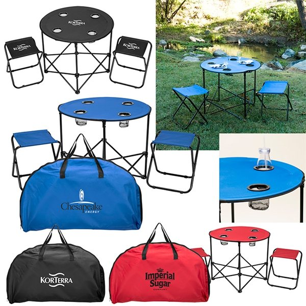Promotional Table and Chairs To Go