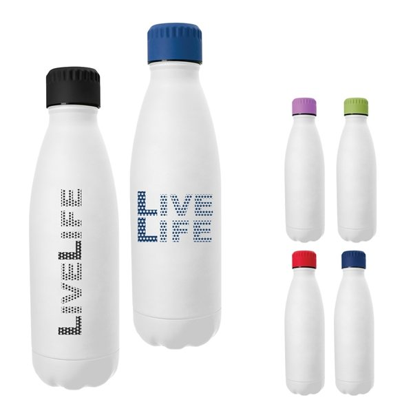 Promotional 16 oz Kali Cross Swiggy Stainless Steel Bottle