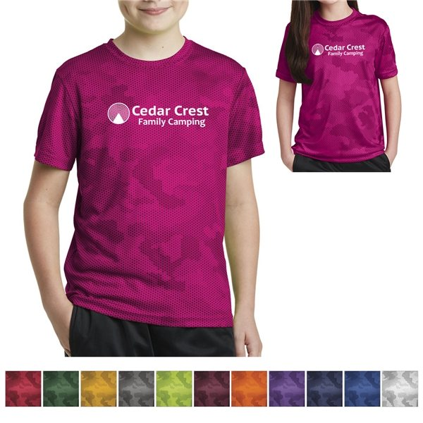 Promotional Sport - Tek(R) Youth Camohex Tee