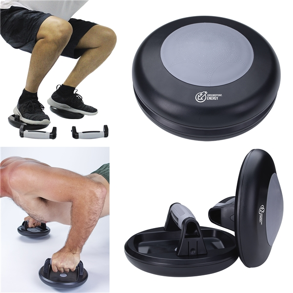 Promotional 360 Rotating Push - up Grips