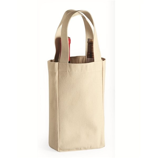 Promotional Liberty Bags - Double Bottle Wine Tote