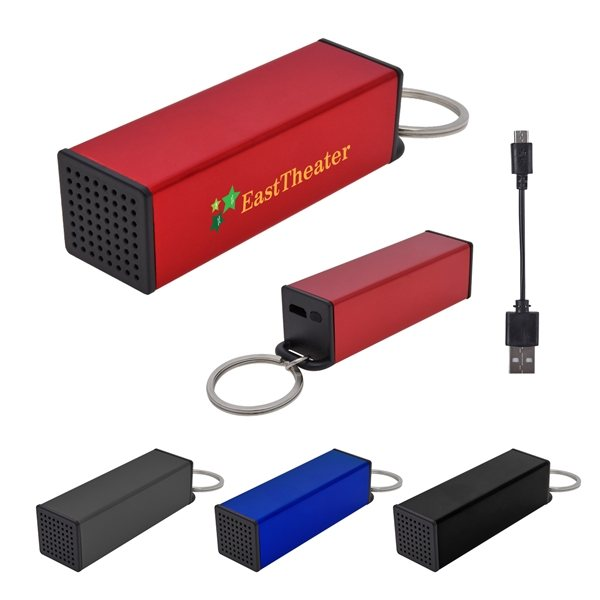 Promotional Roadie Wireless Speaker Key Ring