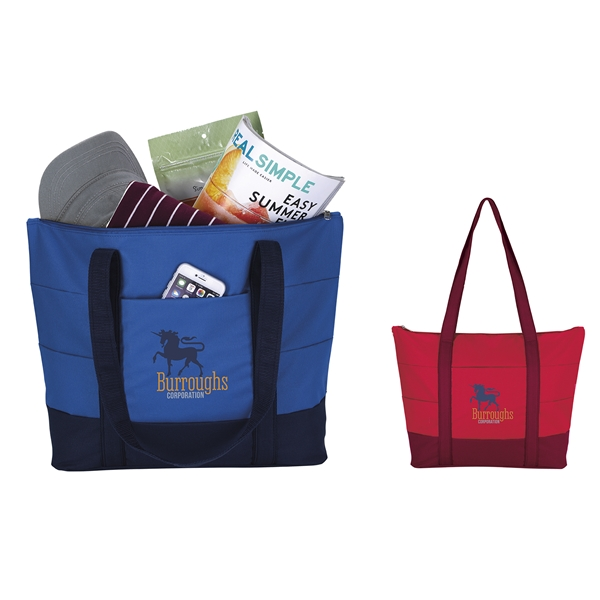 Promotional Pleated Tote