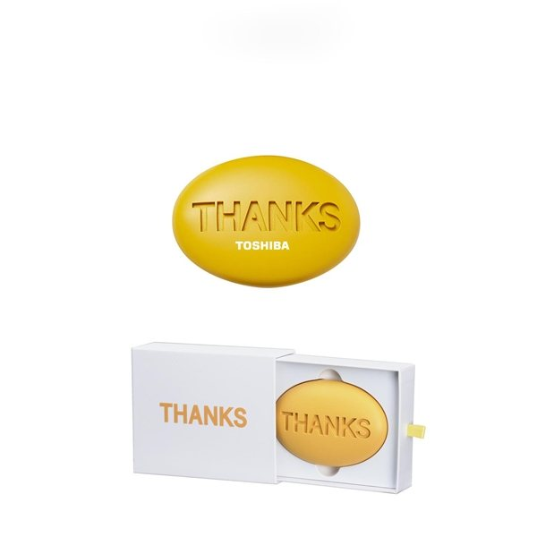 Promotional Thanks Paperweight