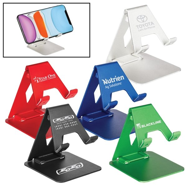 Promotional Aluminum Phone Holder and Tablet Stand