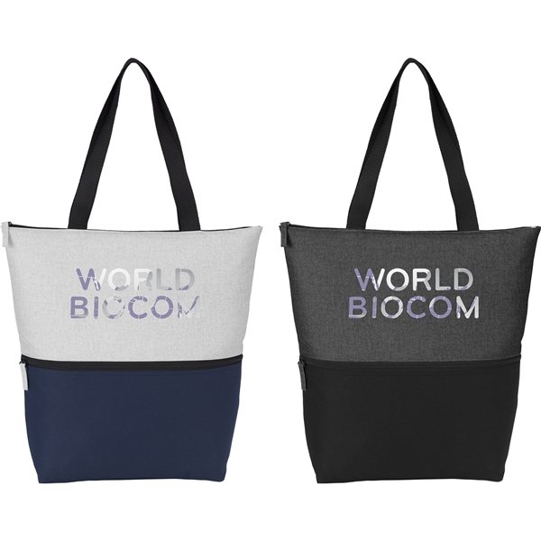Promotional Merlin Zippered Tote