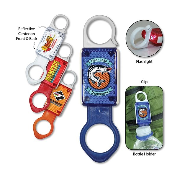 Promotional 4 in 1 Safety Clip, Full Color Digital