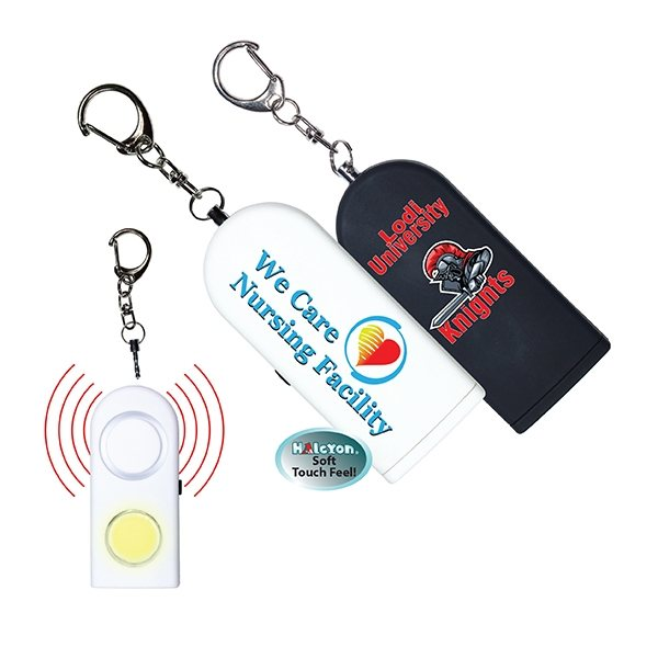 Promotional Halcyon(R) Personal Safety Alarm, Full Color Digital