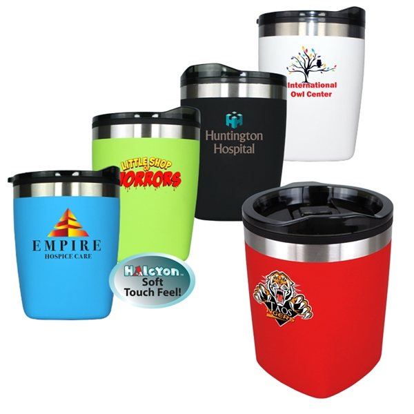 Promotional 12 oz Halcyon(R) Amigo Tumbler, Full Color Digital