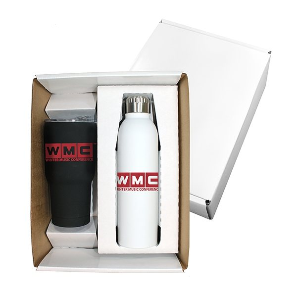 Promotional Halcyon(R) Tumbler Deluxe Bottle Gift Set