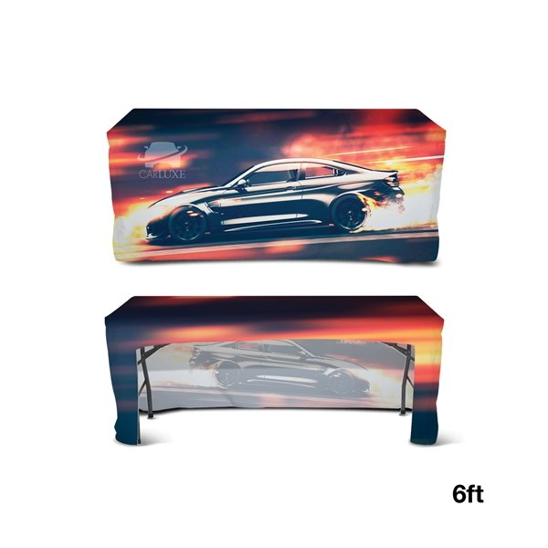 Promotional DisplaySplash 6 Fitted Open Back Table Cover