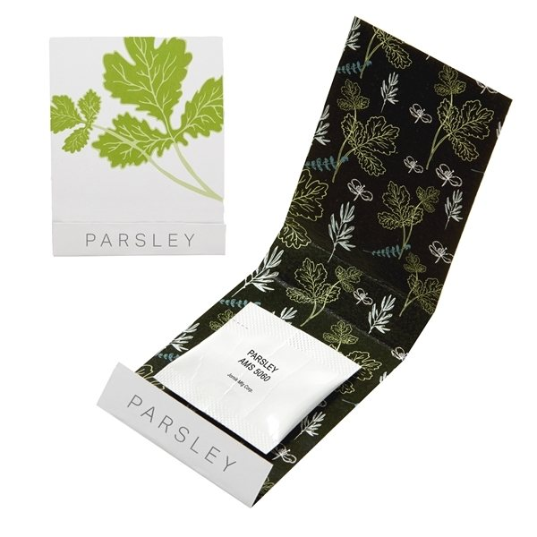 Promotional Parsley Seed Matchbook