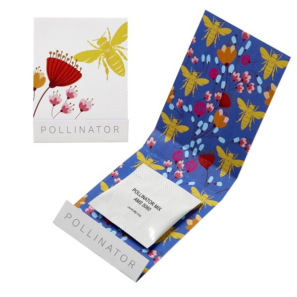 Promotional Pollinator Seed Matchbook
