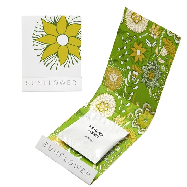 Promotional Sunflower Seed Matchbook