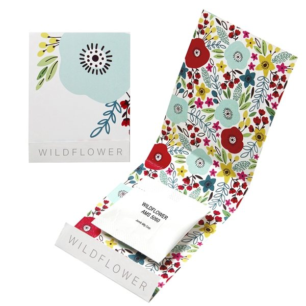 Promotional Wildflower Seed Matchbook