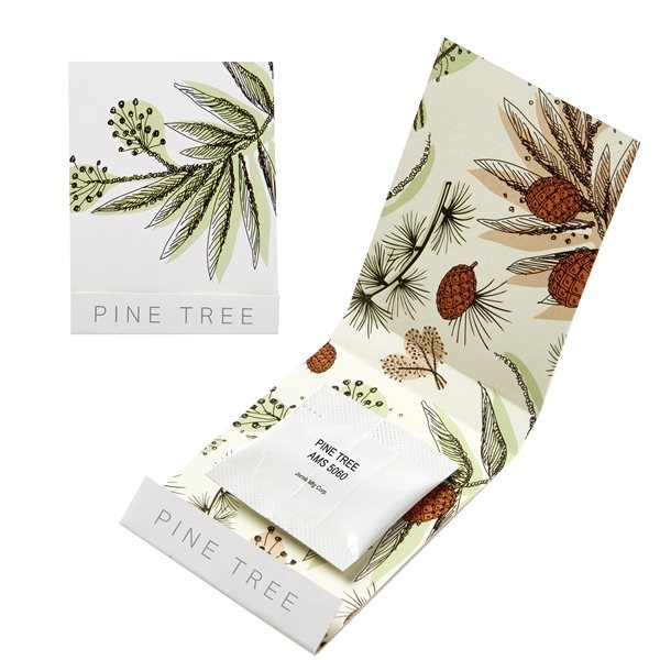 Promotional Pine Tree Seed Matchbook
