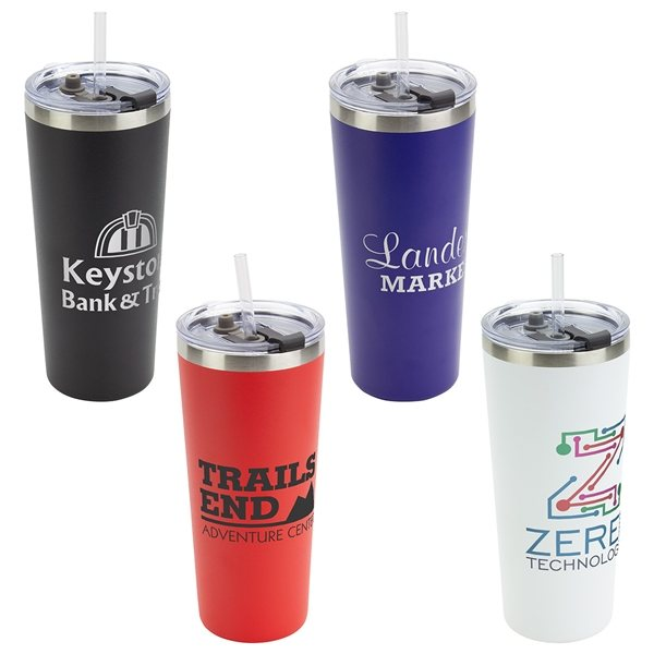 Promotional Brighton 20 oz Vacuum Insulated Stainless Steel Tumbler