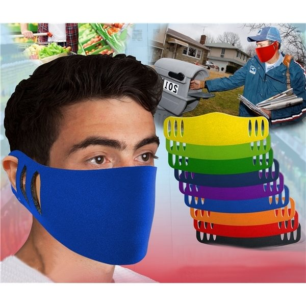 Promotional Stretchable Polyester Face Mask