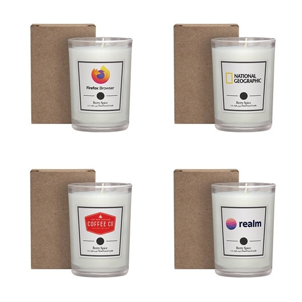 Promotional 8 oz. Scented Tumbler Candle