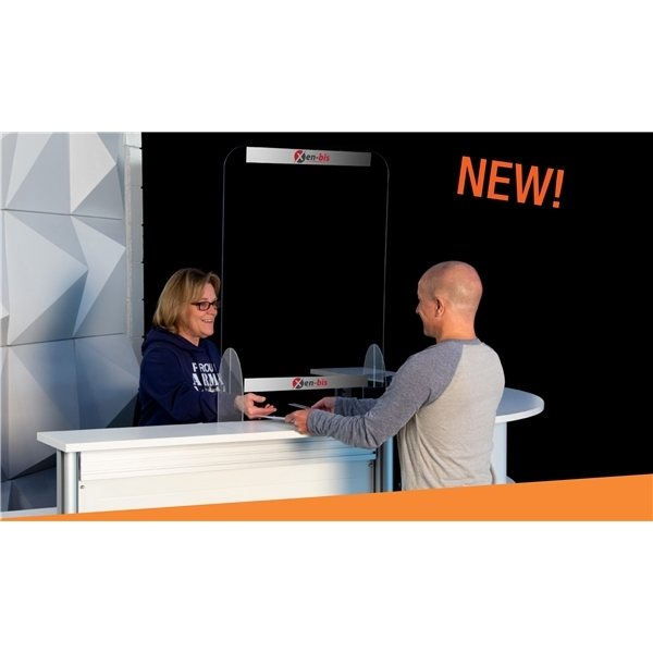 Promotional 24 x 32 Protective Acrylic Counter Barrier Kit