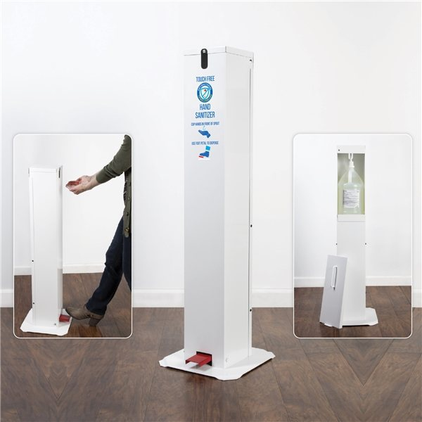 Promotional Touch Free Pedal Hand Sanitizer Station
