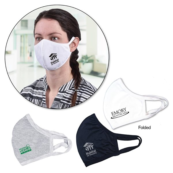 Promotional Double Layer Face Mask