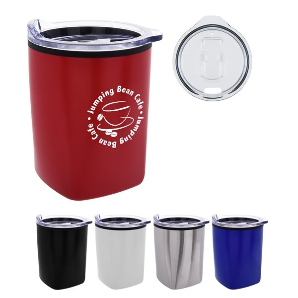 Promotional 12 oz Mason Stainless Steel Tumbler