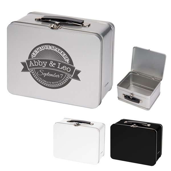 Promotional Throwback Tin Lunch Box
