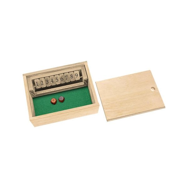 Promotional Fun On The Go Games - Shut The Box Game