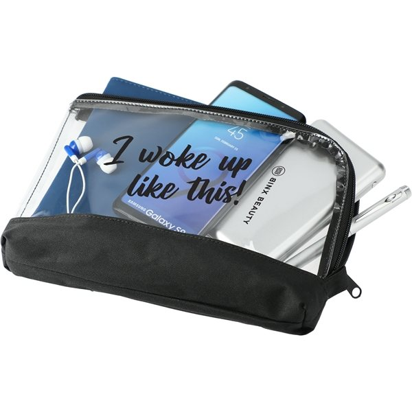 Promotional Clear Travel Pouch