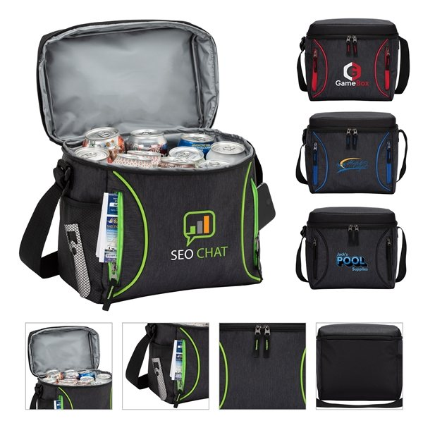 Promotional Seville 16- Can Soft Cooler Bag