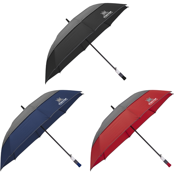 Promotional 60 Double Vented Golf Umbrella
