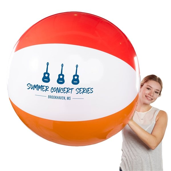 Promotional 48 Giant 6 Color Beach Ball