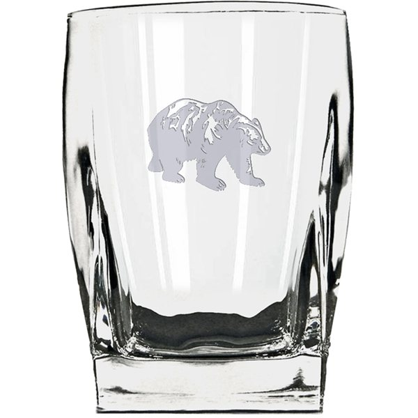 Promotional Heritage Whisky Glasses w / Deep Etch