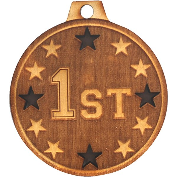 Promotional Wood Medals