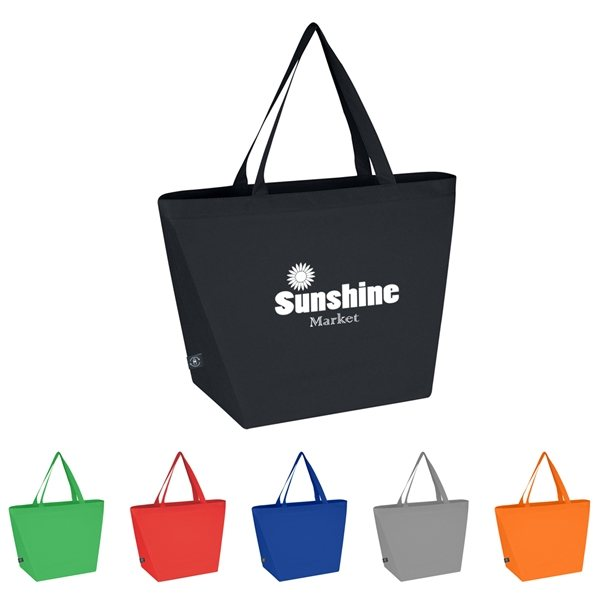 Promotional Non - Woven Budget Tote Bag With 100 Rpet Material