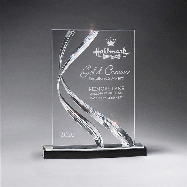Promotional Small Clear Award