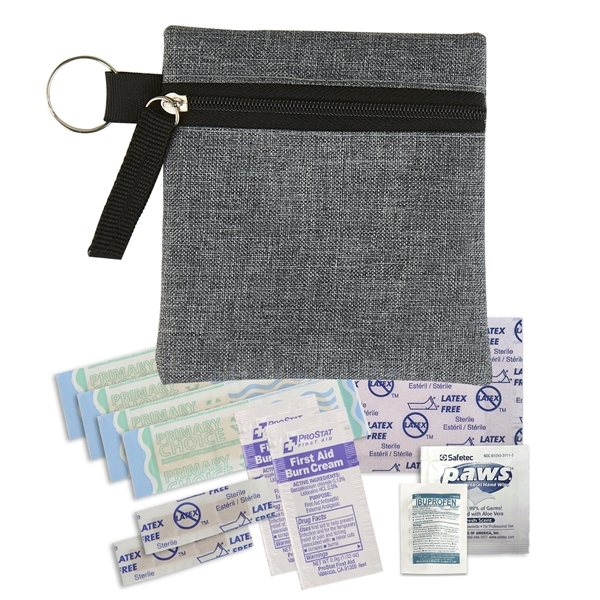 Promotional Heathered First Aid Kit