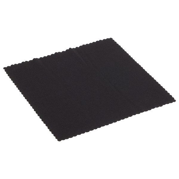 Promotional 6 X 6 220GSM Microfiber Lens Cloth with Antimicrobial Additive