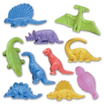 Figurine Stock Eraser- Jr. Dinosaur Collection