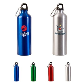 25 oz Custom Aluminum Alpine Sports Bottle