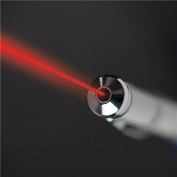 2-In-1 Stylus And Laser Pointer - White