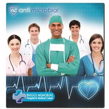 BIC® Antimicrobial Mouse Pad (7-1/2'' X 8'')